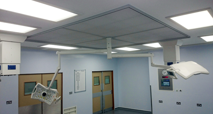 Interfurn - St Albans Hospital Theatre Refurbishment
